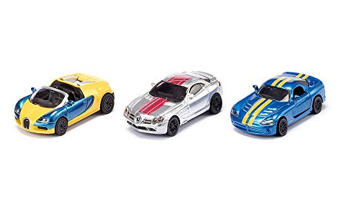 Siku 6323 Sportwagen-Set Spielzeug, Sortiert