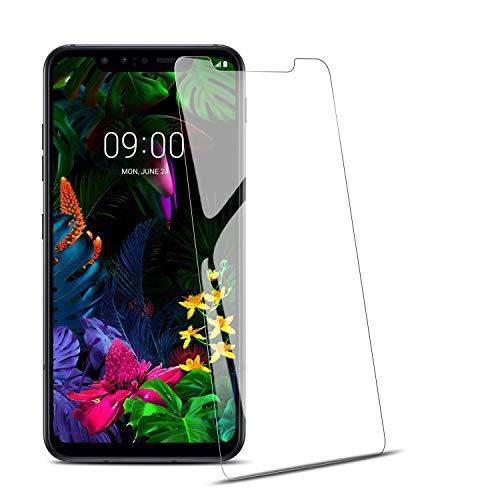 RIIMUHIR-Panzerglas Schutzfolie für LG G8S [3 Stück], Displayschutzfolie für LG G8S, Panzerglas 9H Härte, Schutzfolie für Handys Einfache Installation, Transparent
