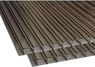 Billion Resources (PAK of 2) 35'' x 48'' Polycarbonate Bronze Sheets 8mm