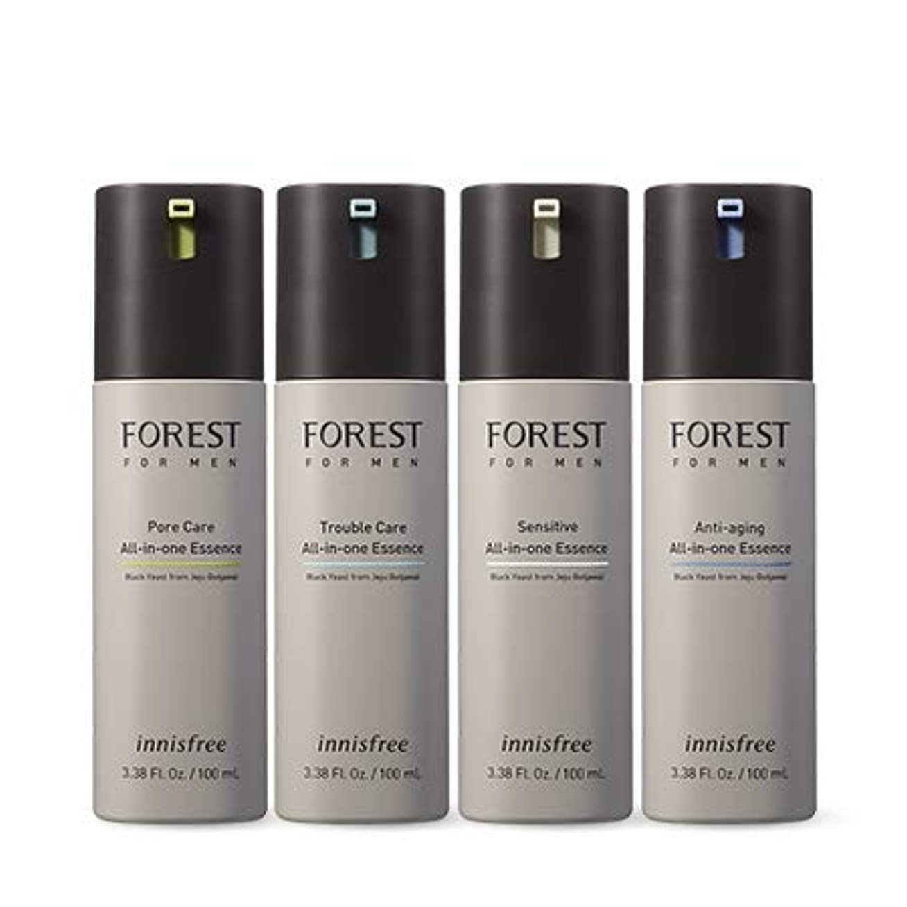 持つ独特の目を覚ます[イニスフリー.INNISFREE](公式)フォレストフォアマンオールインワンエッセンス各100mL(2019。新発売)/ FOREST FOR MAN ALL IN ONE ESSENCE(2019.04 NEW PRODUCT) (#1 フォアケア)
