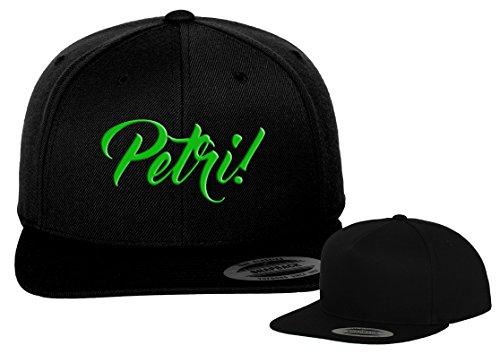Flexfit Petri Heil Basecap Yupoong/Black Cap