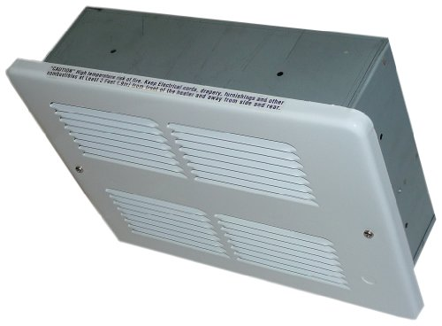 KING WHFC1215-W WHFC Series Ceiling Mounted Heater, 1500W / 120V, White