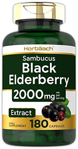 Horbaach Sambucus Black Elderberry Capsules