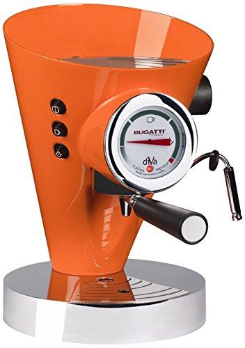 Casa Bugatti 15-DIVACO Kaffeevollautomat Diva, orange