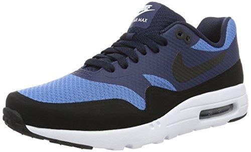 Nike Herren Air Max 1 Ultra Essential Low-Top, Blau (Star Blue/Black-Obsidian-White), 44.5 EU