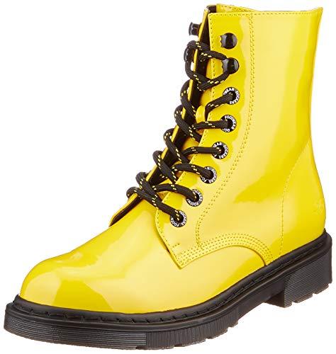 DOCKERS BY GERLI Damen 45TS201-670900 Mode-Stiefel, gelb, 39 EU