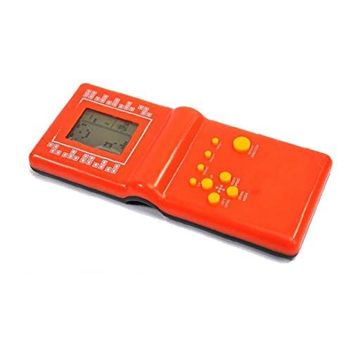 YZLSM 1pc Tetris Brick Spiel-Handspiel-Spiel-Konsole-Farbbildschirm Retro Spiel-Konsole Portable Video Ordner-Datei Retro Game