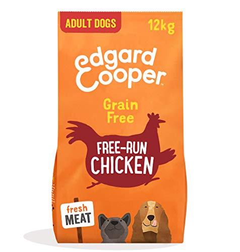 Edgard & Cooper Droog Hondenvoer voor Volwassen Honden met Verse scharrelkip - Graanvrij en Boordevol vers vlees (12 kg)