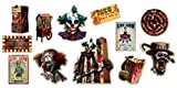 amscan Halloween Side Show | Value Pack Cutouts,Multicolor,14.2' x...