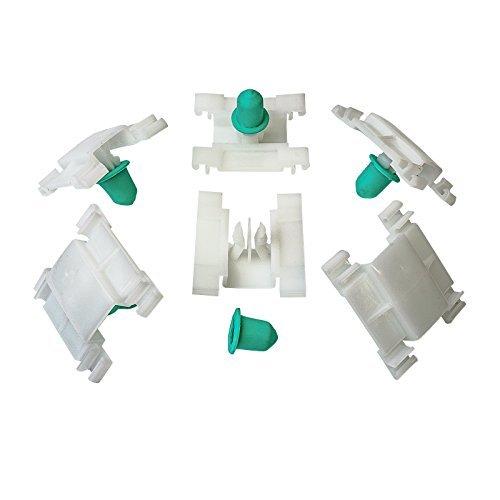 10x Zierleistenklammer mit Tülle Clip Klammer für Golf 3 Jetta Vento | CL-0001
