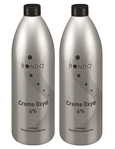 Rondo Cremeoxyd 6% 1000ml Creme Entwickler Oxidant Oxidationsmittel (2 Stück)