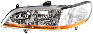 Headlight Lens and Housing Compatible with 2001-2002 Honda Accord Driver Side
