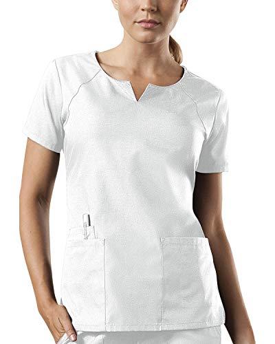 Smart Uniform 1706 Round Neck (3XL, Weiß [White])