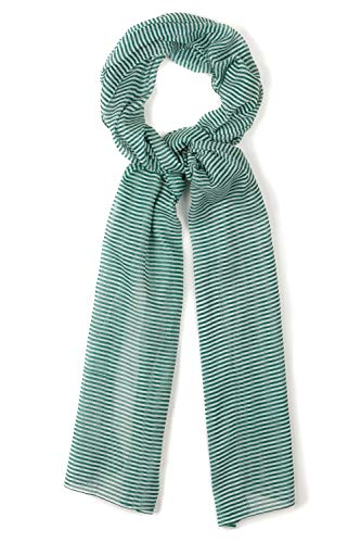 Ulla Popken Damen große Größen Schal smaragdgrün 1Size 727741 41-1
