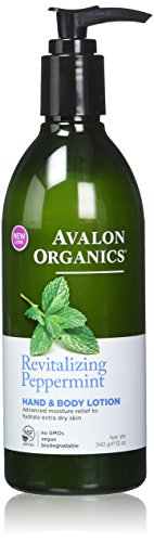 Avalon Organics Hand & Body Lotion - Peppermint - 12 oz - 2 pk
