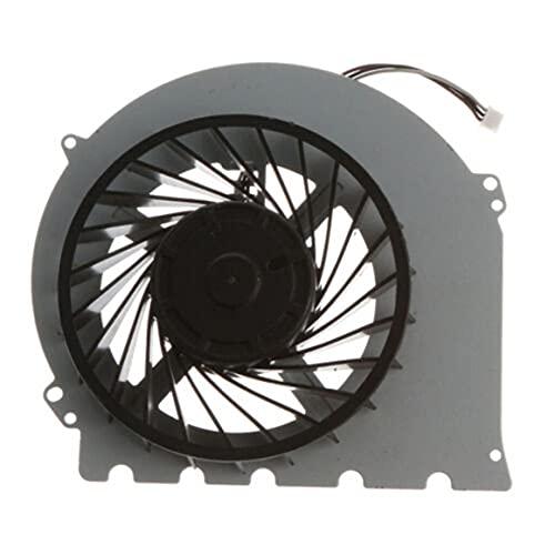 Persdico Ventilador de refrigeración interno de repuesto, pieza de refrigeración incorporada para PS4 Slim KSB0912HD, controlador de host, suministros de juego