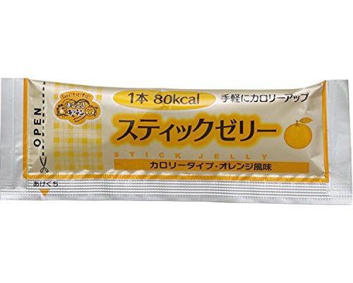 スティックゼリー カロリータイプ オレンジ風味 14.5g×20本 (林兼産業) (食品・健康食品)(返品不可)