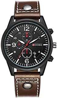 DOOBO Casual Watch For Men Analog Leather - 0014