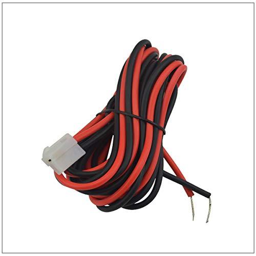 Kymate Cable de alimentación DC 3M para Yaesu FT-7800R FT-7900R FT-8900R FT-2400 FT-2500 FT-2600 FT-2800M FT-1802M FT-1807M Kenwood TM-741 TM-V7 TM-G707 TM-D70. 0 TM271 TM281 - Radio móvil