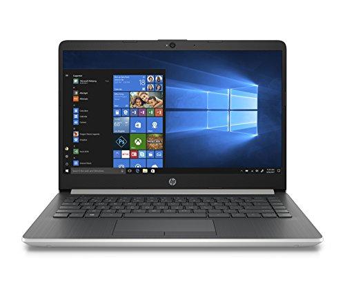 HP 14-inch Laptop, 8th Generation Intel Core i3-8130U Processor, 4 GB SDRAM, 128 GB Solid State Drive, Windows 10 Home in S Mode (14-df0020nr, Natural Silver)