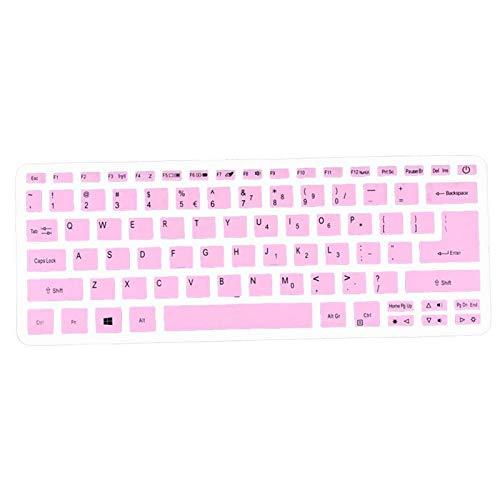 1 carcasa de silicona para ordenador portátil Acer Swift 3 SF314-52 SF314-54 / Swift 1 SF114-32 de 14 pulgadas, i5 8250U, color rosa