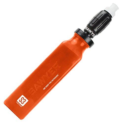Sawyer Products SP4320 Select S3 Purificateur d'eau pour virus, métaux lourds, produits chimiques et pesticides avec filtre à micro-pression Rouge