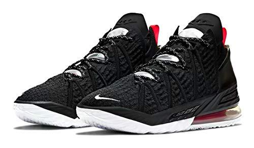 Nike Herren Lebron 18 Basketballschuhe, Schwarz (Schwarz/Mtlc Gld/Crt Prpl.), 43 EU