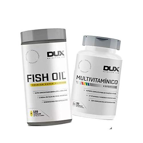 Omega 3 Fish Dux + Multivitaminico Dux
