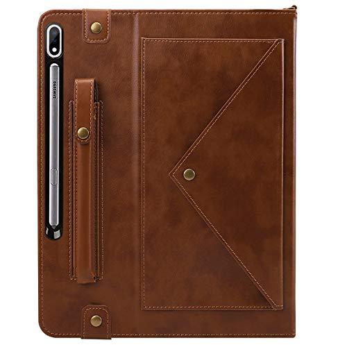 GHC Pad Fundas & Covers para Samsung Galaxy Tab S6 Lite Tab S5E, Pen Slot String Strap Sobres sobre Multifunción Handheld Tablet Funda para Samsung Galaxy Tab S6 Tab A7 Tab S7 11 / S7 12.4