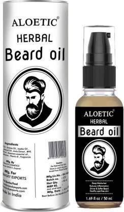 Aloetic Herbal beard growth oil