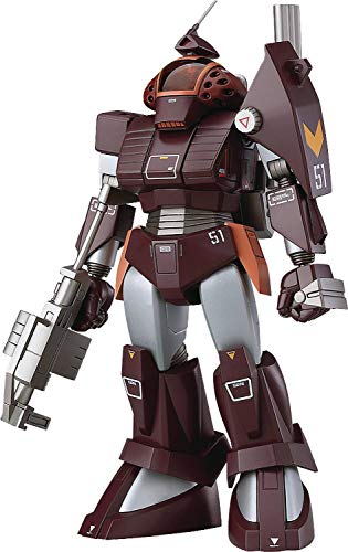 Max Factory Fang of The Sun Dougram: Combat Armors MAX20 Soltic H102 Bushman Reinforced Pack Mounted Type 1:72 Scale Model Kit, Multicolor