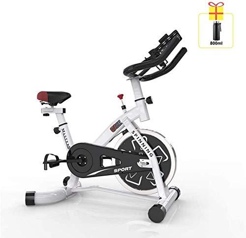 YYhkeby Bicicleta de Ejercicio Ultra Tranquilo Interior, Bicicleta dinámica de 150 kg de Carga con Soporte multifunción, Equipo de Fitness de Pedal multifunción doméstico Jialele