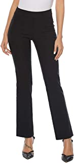 Women's Pull On Barely Bootcut Stretch Dress Pants