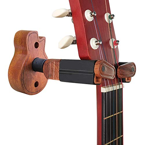 TTCR-II Soporte Guitarra Pared Suelo,Colgador Guitarra pared Accesorios Guitarra Pie Guitarra Soporte...