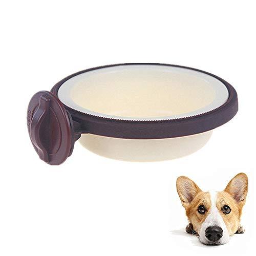 Kattenvoer Kom Water Kommen Voor Hond Kratten Grote Hond Kom Hond Voedsel En Water Kom Hondenvoer Kom Kat Water Kom Kat Bowls Twin brown,l