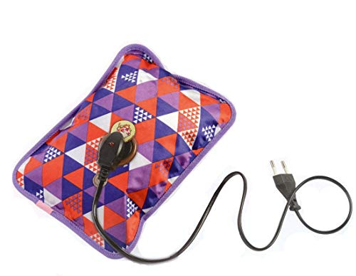 Isabella heating bag, hot water bags for pain relief, Heating Pad-Heat Pouch Hot Water Bottle Bag, Electric Hot Bag, heating pad for pain back pain, bone pain, joint pain relief (Multi Color)