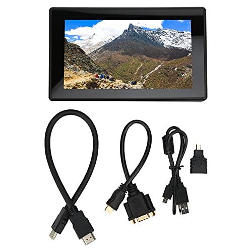Les-Theresa Pantalla táctil: Pantalla táctil capacitiva IPS Pantalla de Interfaz Multimedia de Alta definición 7 Pulgadas 1024 x 600