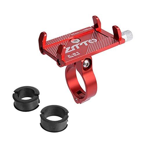 Roeam Soporte Bici Movil Anti Vibración,Soporte Telefono Moto Aluminio,Accesorios Patinete Electrico Compatible...