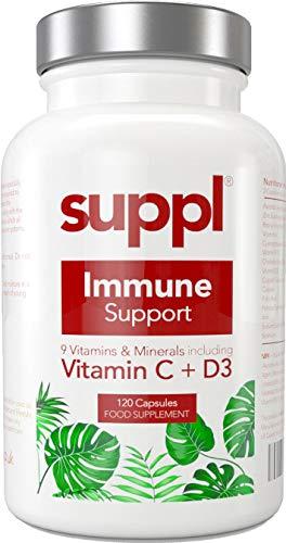 Immune Support Multivitamin for Men & Women, Vitamin D, C, A, B12, Iron, Zinc, Copper, Folic Acid, Selenium Maximum Strength