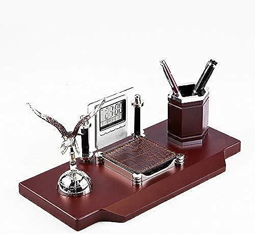 LJJTDS Multifunktionale Kalender Zeit Stift Topf Schreibtisch Business Federm chen Ehrgeiz Dekoration Ornamente Aufbewahrungsbox Mode Warm  zügig