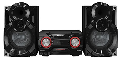 Panasonic SC-AKX400EBK 600 W Speaker System with Wireless Audio Streaming...