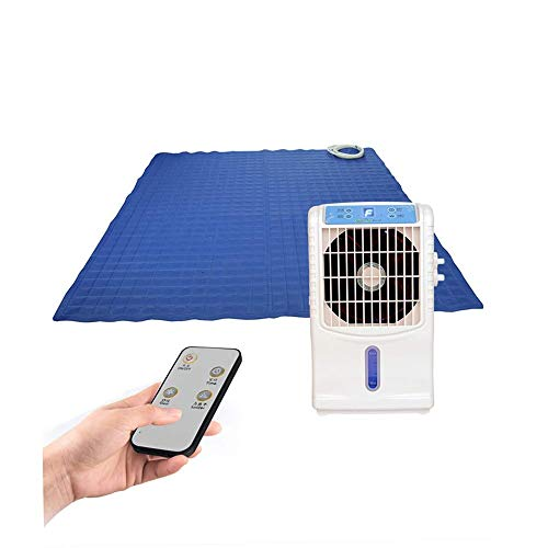 GFDFD Ventilador de Aire Acondicionado de 6 W de Potencia Ventilador de Aire + colchón Ultrafino refrigerado por Agua