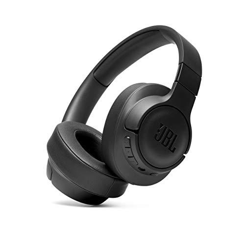 JBL Tune 700BT Over-Ear hoofdtelefoon, zwart, draadloze bluetooth-oordopjes met 27 uur accuduur, muziek streamen en telefoneren onderweg