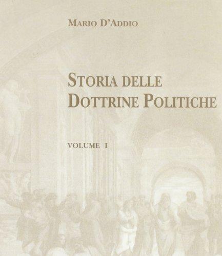 Storia delle dottrine politiche (Vol. 1)
