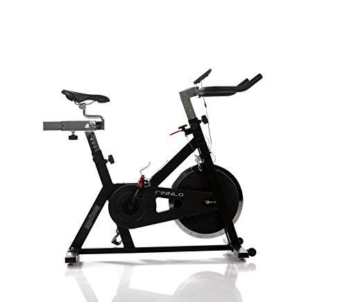 Finnlo Speedbike - Bicicletas estáticas y de Spinning para Fitness, Color Negro