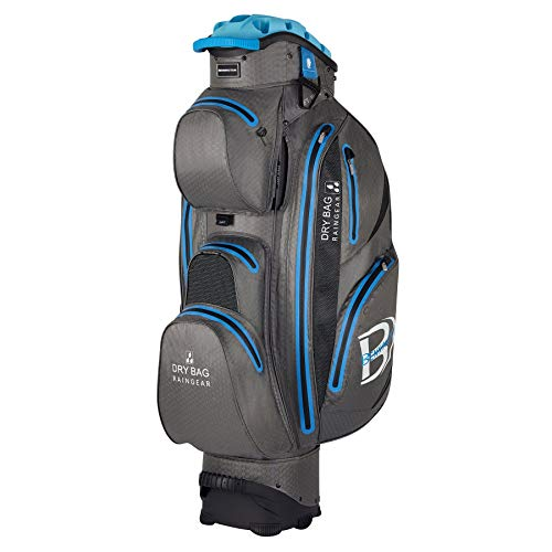 Bennington QO 14 Waterproof Cartbag, Grau/Blau