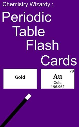 Chemistry Wizardry Periodic Table Flash Cards Douglas Scott Amazon Com
