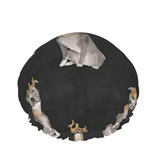 Bonnet de douche Turban Sauna Big Poppa différentes directions étanche Double couche élastique bonnet de bain usage domestique bonnet de nuit