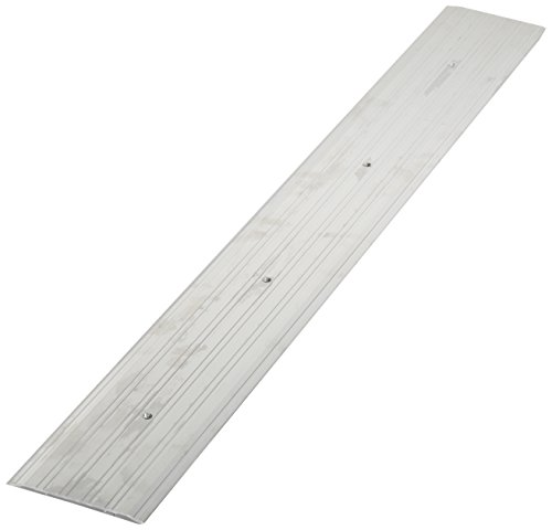 Pemko - 272A48 Fluted Saddle Threshold, Mill Finish Aluminum, 48'L x 6'W x 0.25'H