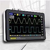 fregthf Panel táctil Digital Osciloscopio Osciloscopio Digital FNIRSI 1013D 2 1 GS / S LCD Pantalla táctil Tableta Osciloscopio 100MHz Ancho de Banda Negro